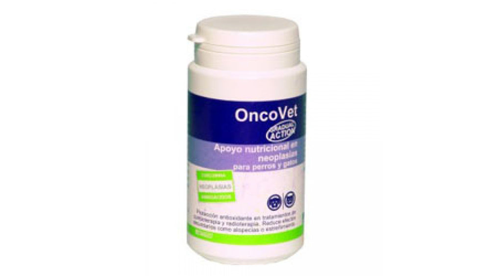 ONCOVET, 60 tablets Nutritional supplement for dogs / cats suffering from cancer - Pet Shop Luna SRL