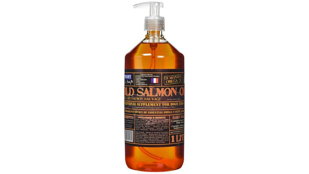 Nutrivet Wild Salmon Oil 1 L - Pet Shop Luna SRL