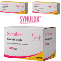 Synulox 50mg/250mg/500mg Palatable Tablets For Dog & Cat /per cani e gatti - Pet Shop Luna SRL