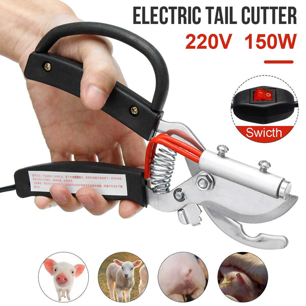 Piglet tail cut electric heating, taglia coda elettrico per suini - Pet Shop Luna SRL