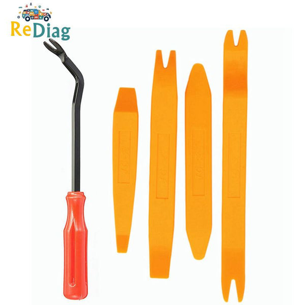 Auto Door Clip Panel Trim Removal Tool Kits Navigation Disassembly Seesaw Car Interior Plastic Seesaw Conversion Tool 4/12 Sets - Pet Shop Luna SRL