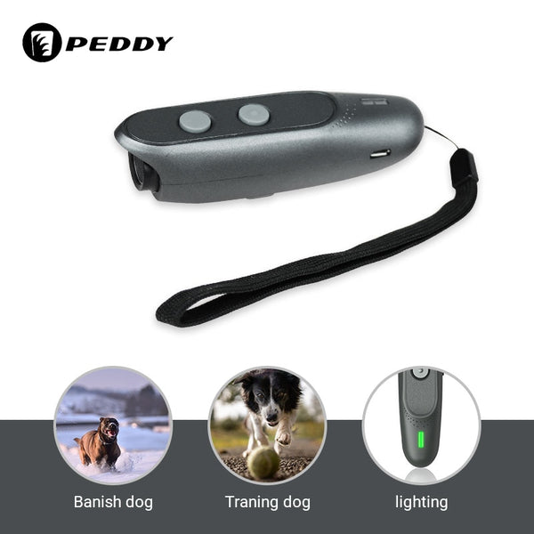 Anti Barking Device Training LED Ultrasonic 3 in 1 for dogs, per cani - Pet Shop Luna SRL