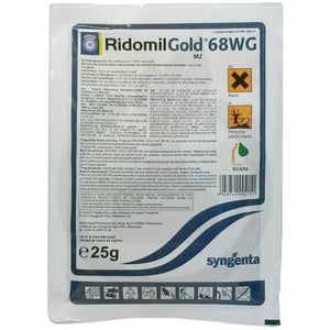 Fungicide RIDOMIL Gold MZ 68WG 25g For Vegetables Syngenta - Pet Shop Luna SRL