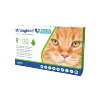 Stronghold Plus Cat 3 pipettes - Pet Shop Luna SRL