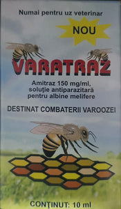 VARATRAZ 10 ML Amitraz 150mg/ml per la varroa delle api / Bee Varroa treatment 10ml - Pet Shop Luna SRL