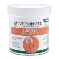 Vet's Best Eye Wipes, 100 pieces Simple and easy to use, damp cotton pads remove impurities and deposits from the inner corner of the eye. - Pet Shop Luna SRL