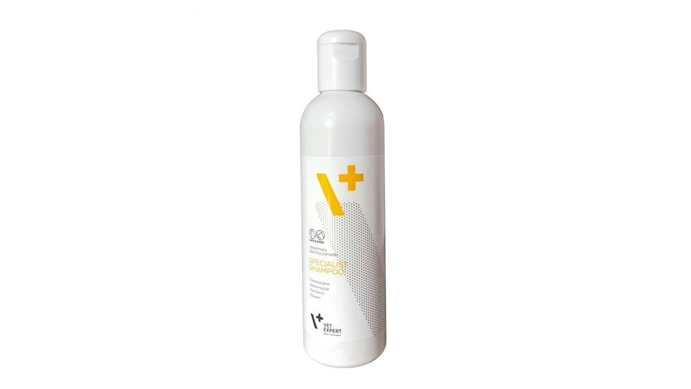 VetExpert Specialist Shampoo, 250 ml Dermatocosmetic Shampoo for dogs and cats - Pet Shop Luna SRL