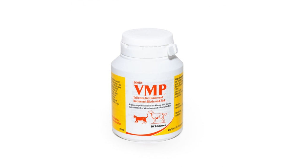 VMP Tabs 50 tablets is a palatable nutritional supplement for dogs and cats / per cani e gatti - Pet Shop Luna SRL