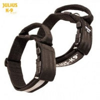 Julius K9 nylon collar with handle for dogs / Collare per cani - Pet Shop Luna SRL