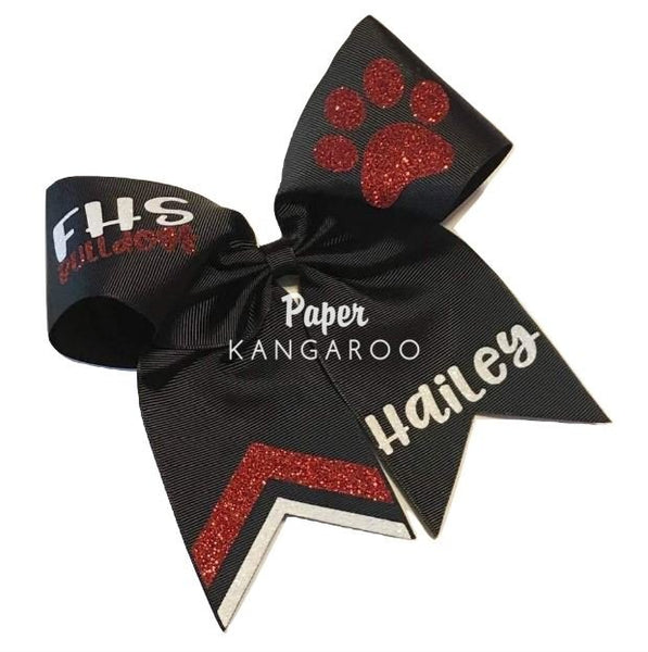 Cheer Bow - Deluxe One Color