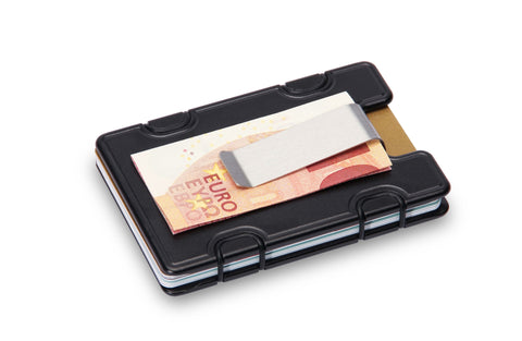M1 Slim Wallet with Money Clip RFID-Blocking