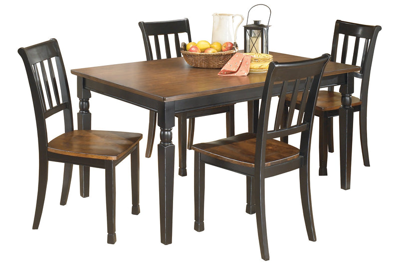 Owingsville Signature Design 5-Piece Dining Room Set