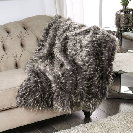 Caparica Feather Throw, Feather