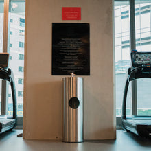 Load image into Gallery viewer, Floor-Standing Gym Wipe Dispenser with Waste Receptacle - HYGYM