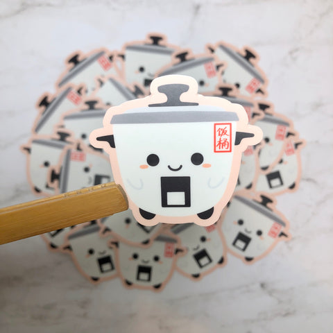 Rice Cooker - Fan Tong Vinyl Sticker