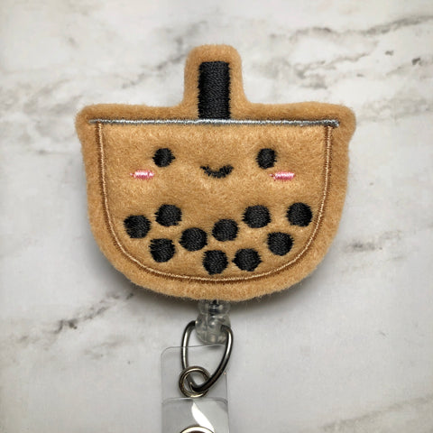Boba Badge Reel