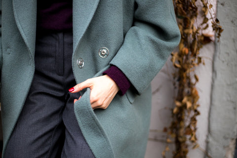 Details of the Oversized Coat