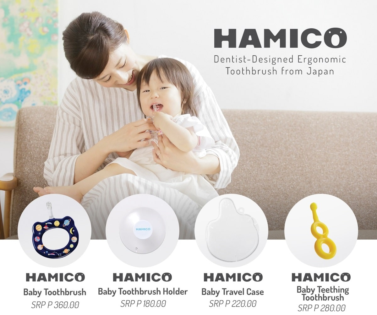 Hamico Baby Toothbrush for 5 months to 24 months old