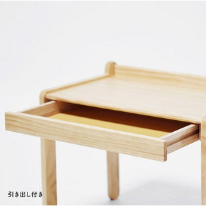 Yamatoya Norsta Little table is an adjustable table for toddles and kids ages 18 months to 6 years old. It comes with pull out drawer