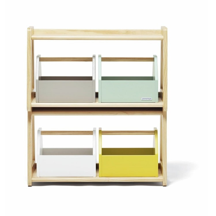Yamatoya Norsta Toy Rack - Natural