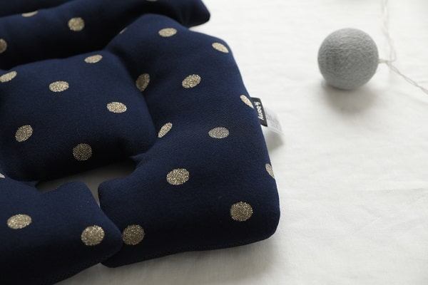 Borny Gold Dot Navy