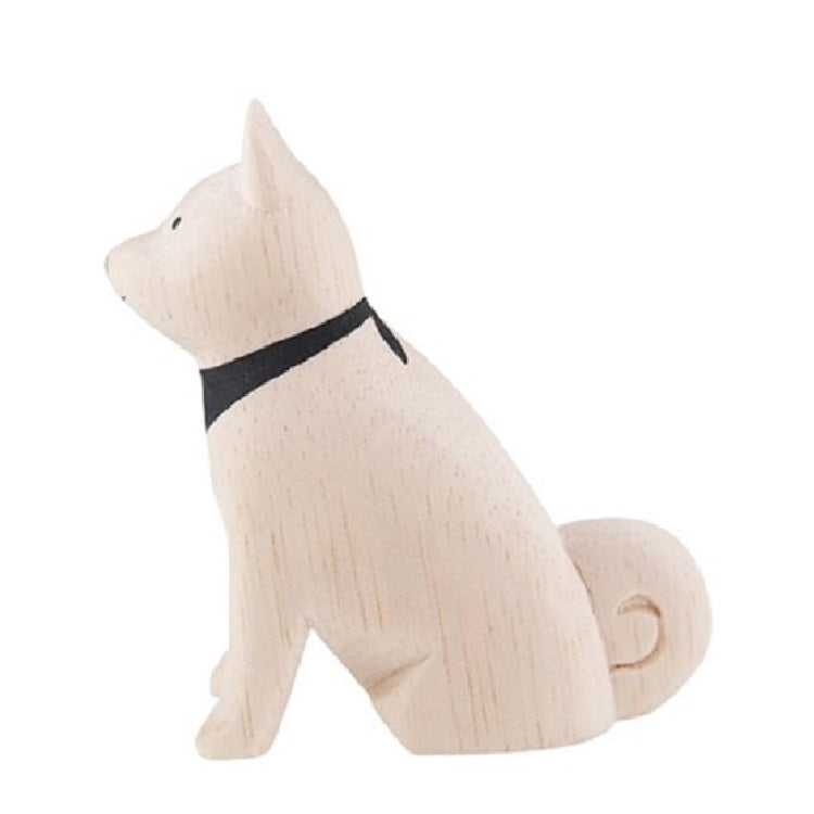T-Lab. Pole Pole Wooden Akita Dog