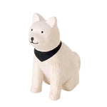 Load image into Gallery viewer, T-Lab. Pole Pole Wooden Akita Dog
