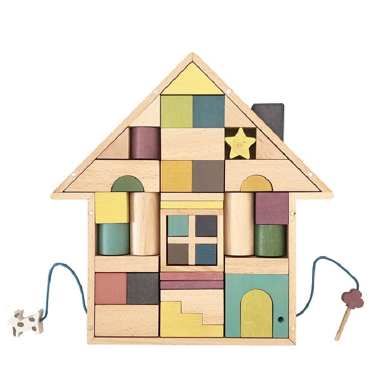 GG* Tsumiki - Building Blocks Wooden House