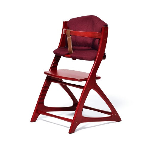Yamatoya Materna/Affel Chair Cushion - Garnet Red