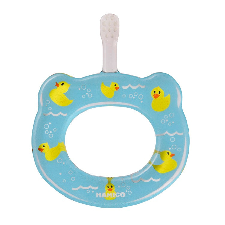 HAMICO Baby Toothbrush - Rubber Ducks
