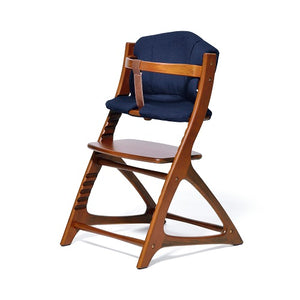 Yamatoya Materna/Affel Chair Cushion - Nocturne Navy