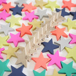 Load image into Gallery viewer, Kiko+ Tanabata - A Hundred Wooden Star Dominoes