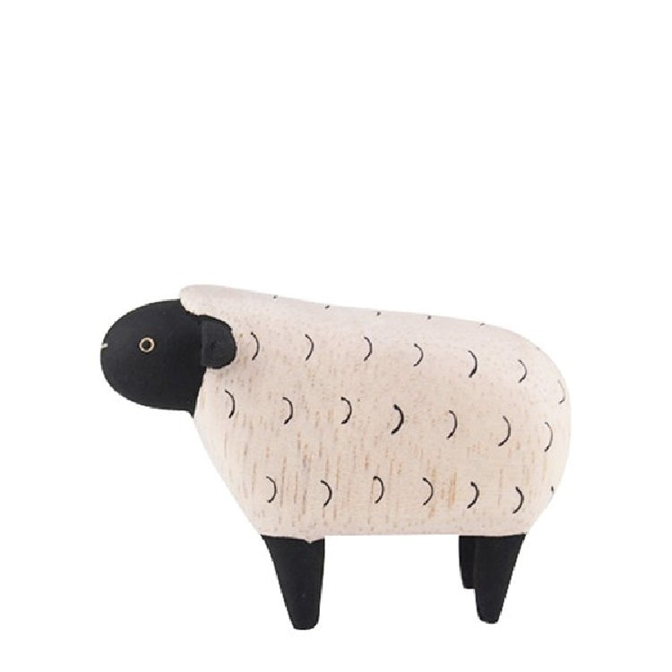 T-Lab. Pole Pole Wooden Sheep