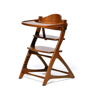 Yamatoya Materna Wooden high  chair in  light brown color