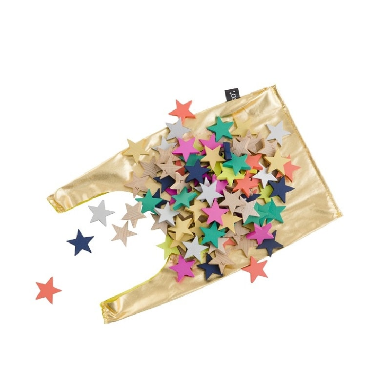Kiko+ Tanabata - A Hundred Wooden Star Dominoes