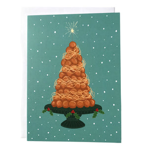 Croquembouche Christmas Card