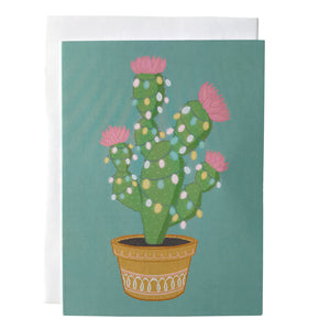 Christmas Cactus Holiday Card