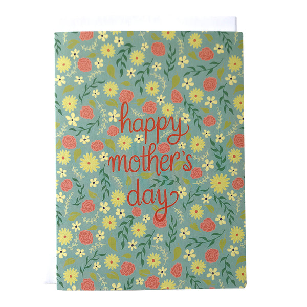 Mother's Day Floral Card