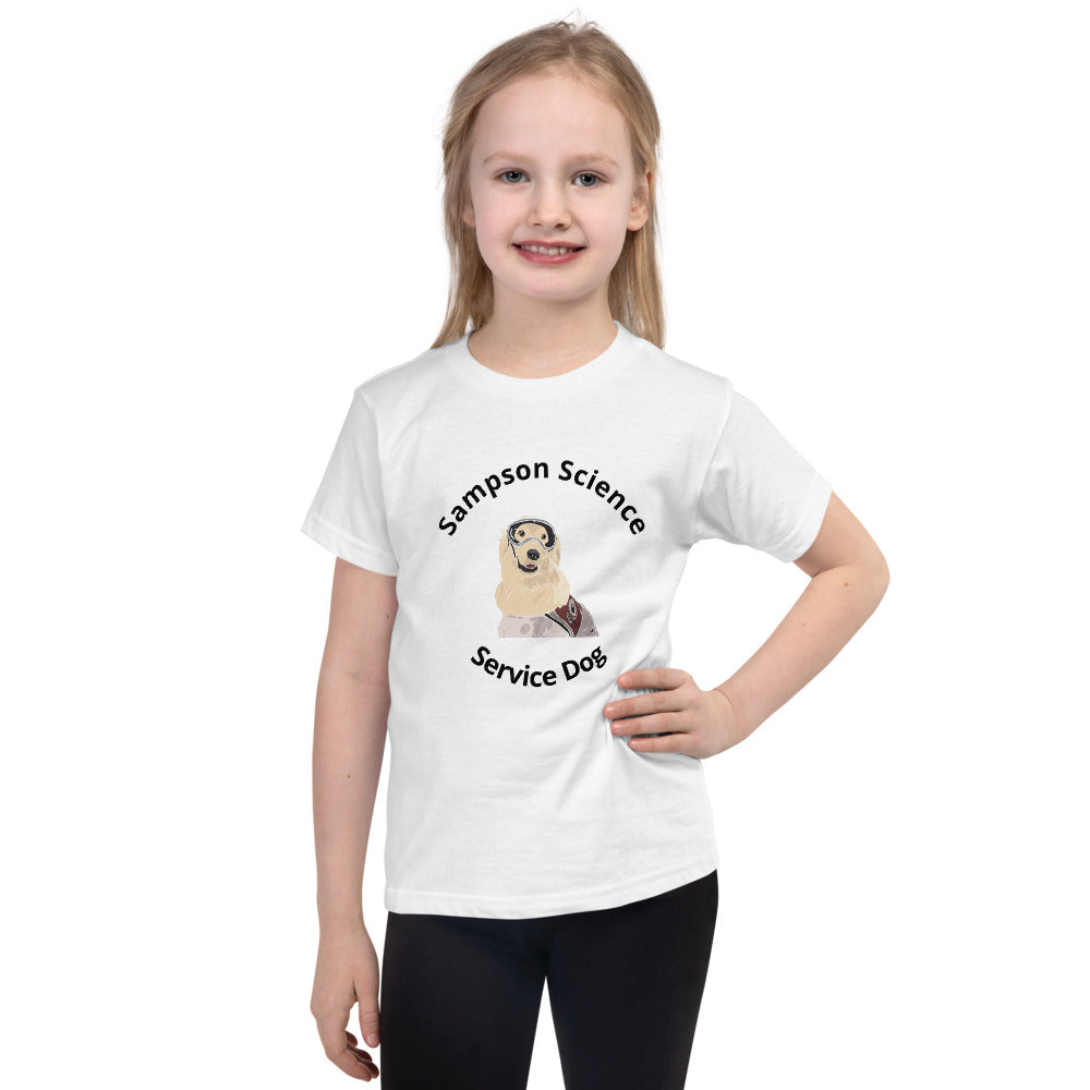 Science Dog Short sleeve kids t-shirt