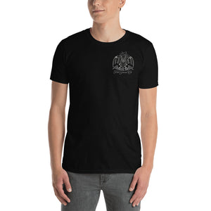 Open image in slideshow, Lose Heart T-Shirt (Black) | Happy Bat Hot Sauce