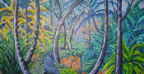 """Rain Forest Dreams"" - Beth Van Gelder"