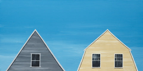 """The Gambrel Next Door"" - Paul Pedulla"