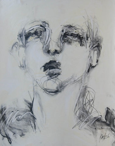 """Series Portrait 16"" - Marilyn Kalish"