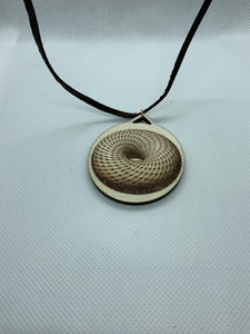 Toroidal Donut Necklace
