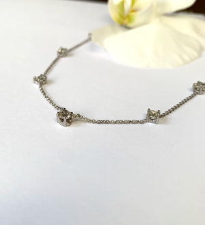 Bespoke Rose + Thorn Diamonds By The Yard Necklace