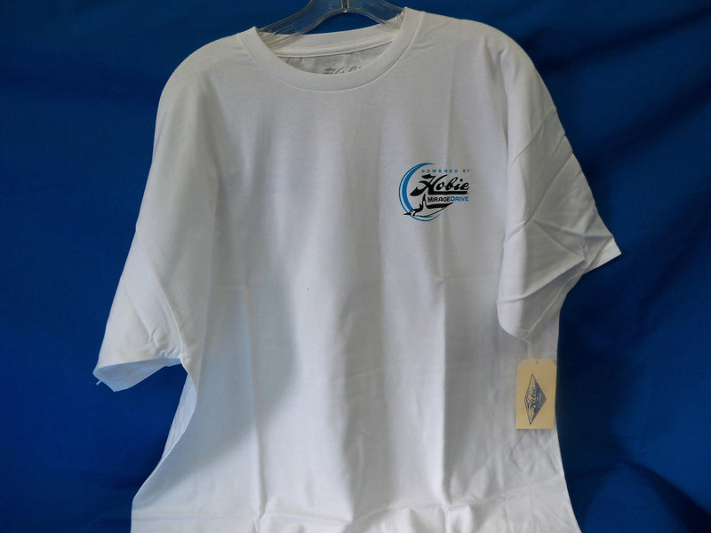 Hobie T-Shirt Fishing White Medium Mens, Item