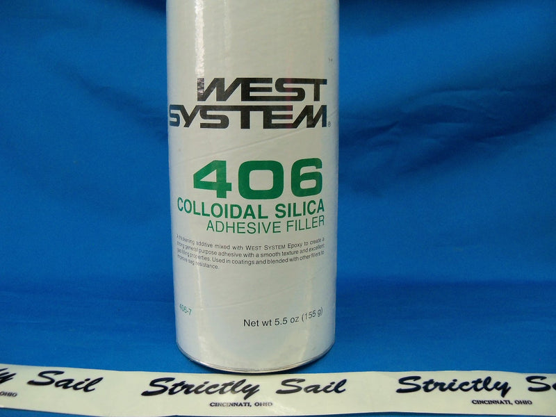 West System 406 Colloidal Silica, Adhesive Filler, 5.5 oz.