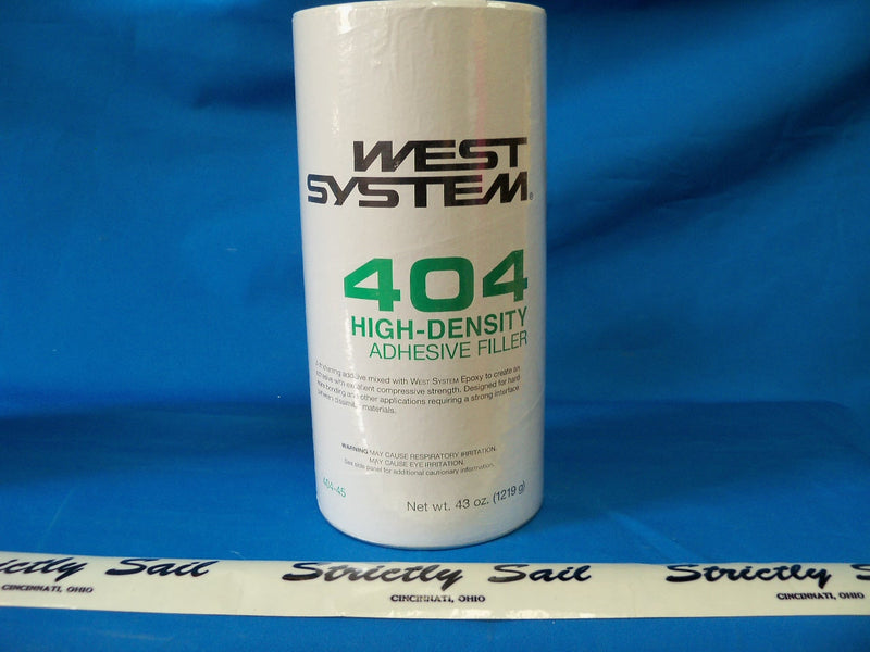 West System 404 High-Density Adhesive Filler, 43 oz.