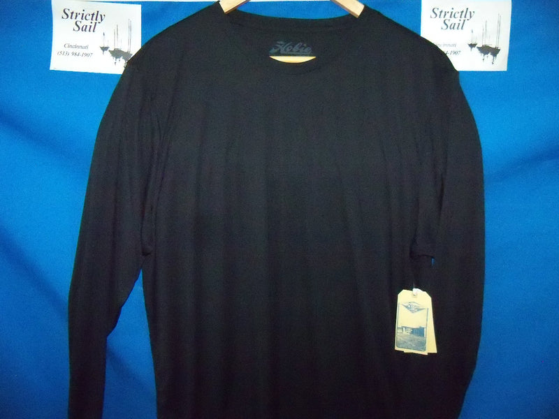 Hobie Flying H Surf Shirt, Long Sleeve, Black, XL, Part
