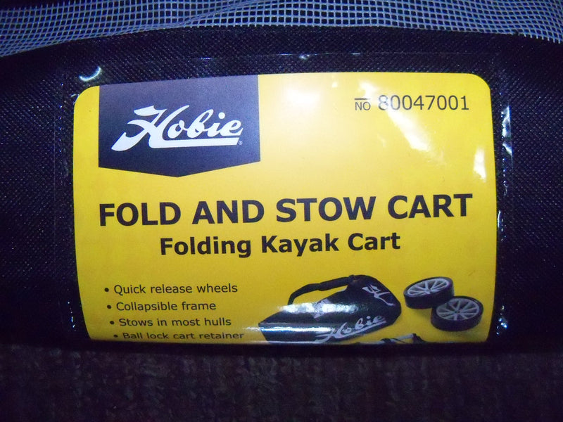 "Hobie Kayak Cart ""Plug-In"" Fold & Stow"